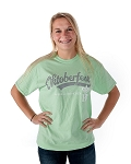 HB Oktoberfest Faux Twill T-Shirt - Mint Green