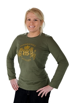 HB Long Sleeve Lion Design Shirt