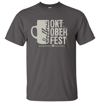 OKT 17 Men's Mug Charcoal T-Shirt