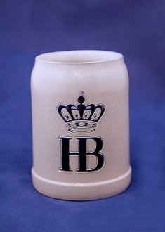 HB Salt Glazed Ceramic Stein 0.5L