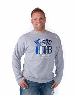 HB Oktoberfest Triple Crown Long Sleeve Shirt - Gray