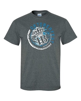 OKT 17 Men's Circle Charcoal Heather T-Shirt