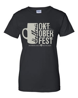 OKT 17 Ladies Mug Black T-Shirt
