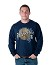 HB Oktoberfest Barrel Long Sleeve Shirt - Navy