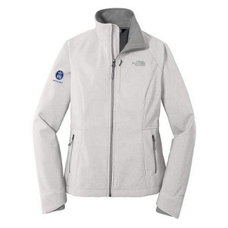 The North Face® Apex Barrier Ladies Soft Shell Jacket - TNF Light Grey Heather