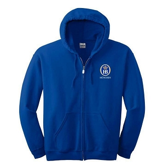 Gildan® - Heavy Blend™ Full-Zip Hooded Sweatshirt-Royal