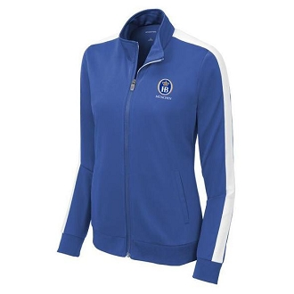 Sport-Tek® Ladies Tricot Track Jacket - Royal