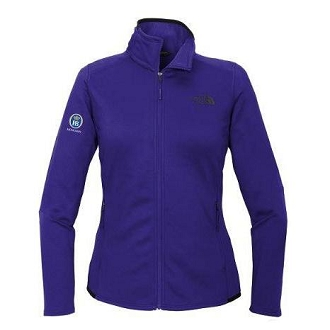 The North Face Ladies Skyline Full-Zip Fleece Jacket - Aztec Blue