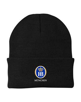 HB Knit Cap - Black