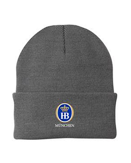HB Knit Cap - Grey