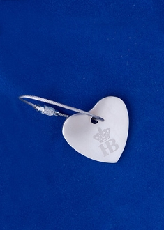 HB Heart Key Ring