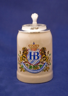 HB Lion Stein with Lid 0.5L