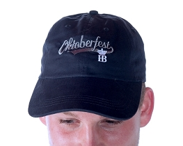 HB Oktoberfest Embroidered Cap - Navy