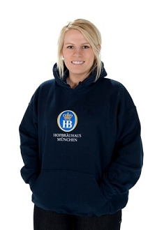 HB Hooded Sweatshirt - Navy