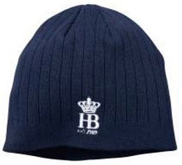 HB PUR Knitted Hat Blue
