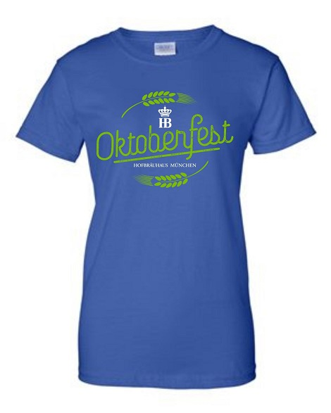 OKT 17 Ladies Royal T-Shirt