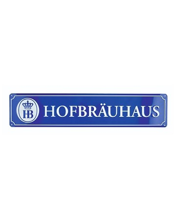 Metal Hofbrauhaus Sign