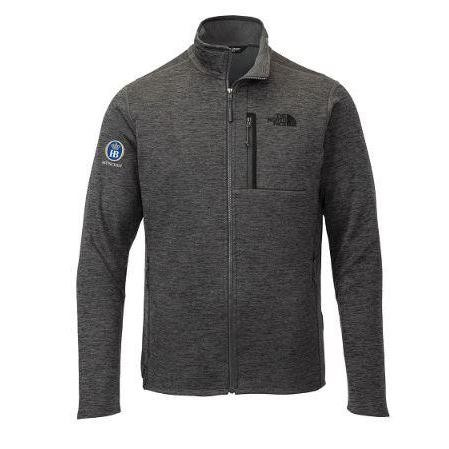 The North Face Skyline Full-Zip Fleece Jacket - Dark Heather Grey